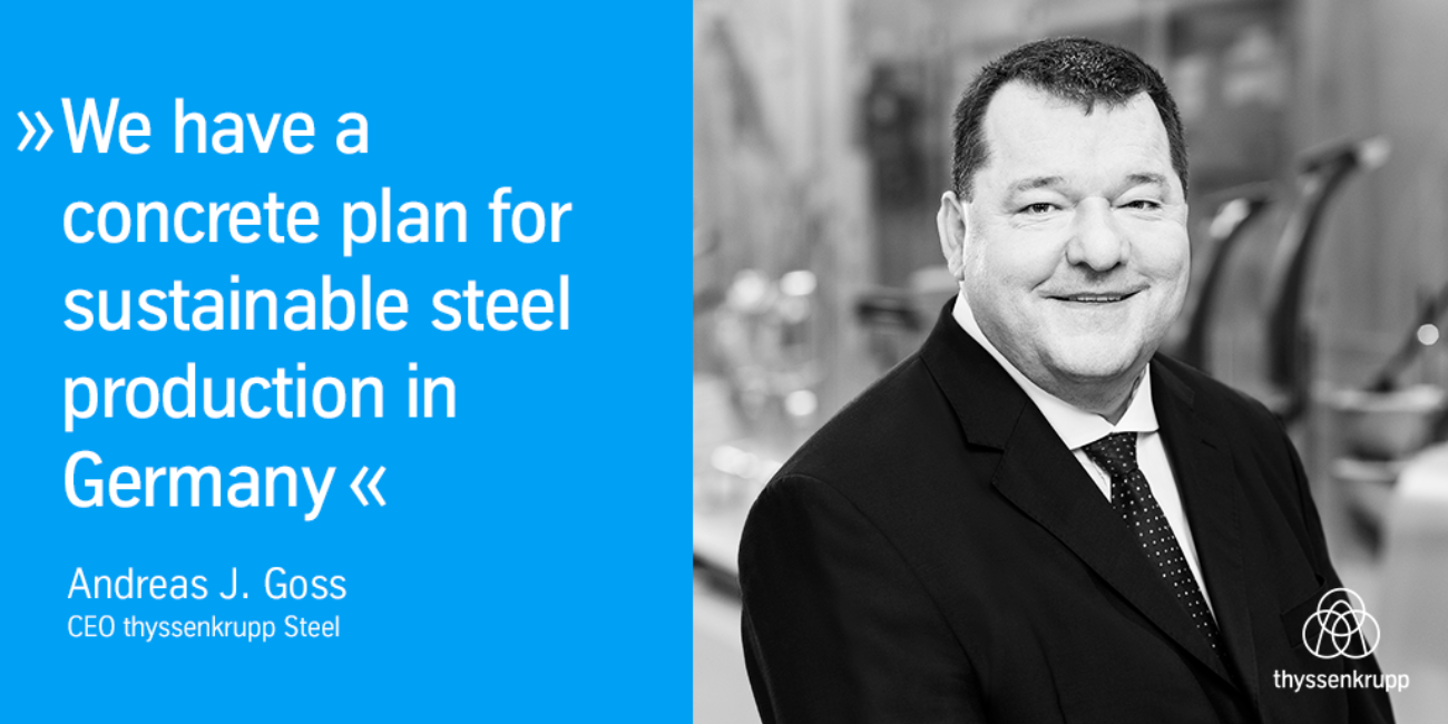 We Have a Concrete Plan for Sustainable Steel Production in Germany