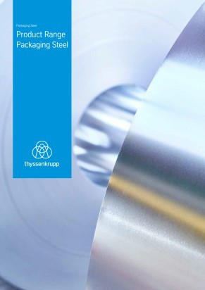Product range packaging steel