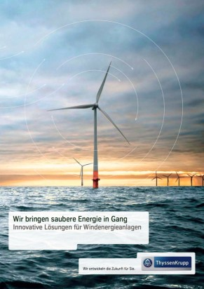 Windenergie ThyssenKrupp Steel Europe