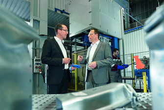 Stefan Eiden and Lutz Keßler | thyssenkrupp Steel Europe