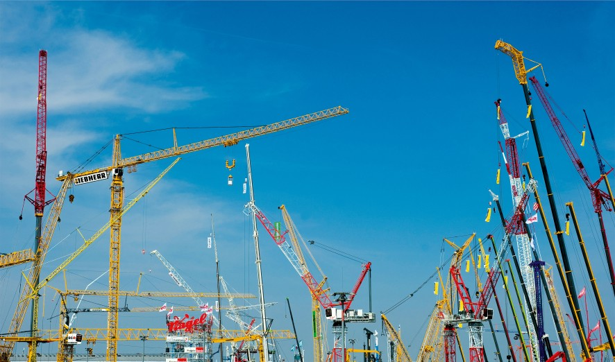 Soaring high: XABO® 1300, one of this year's winners, is suitable for making mobile cranes.
