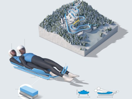 Info graphic: Luge as an Olympic discipline
