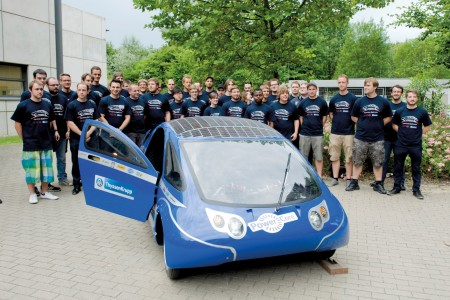 Open-minded SolarCar thinker