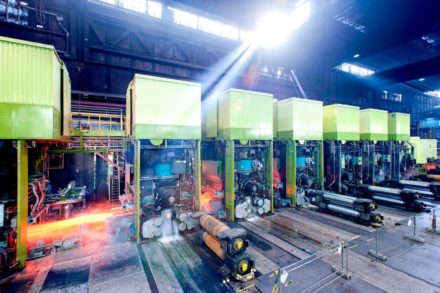 modernization press ThyssenKrupp Steel Europe