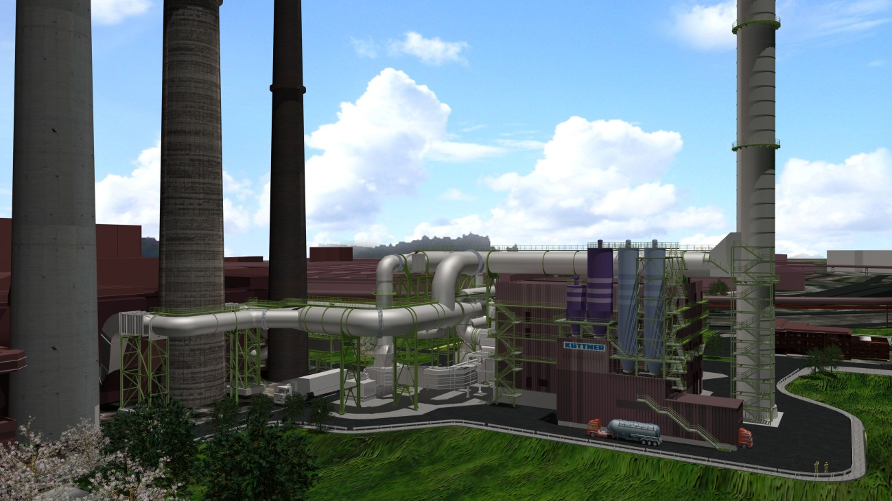 The new filter system, which upon completion will be the biggest in the world for the sintering process, is planned to start operation in early 2017 and will further improve the environmental situation in Duisburg.