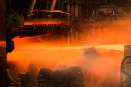 Hot rolling mill at thyssenkrupp