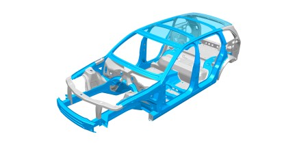 Dual-phase steels from thyssenkrupp can be used in many areas of the car body.