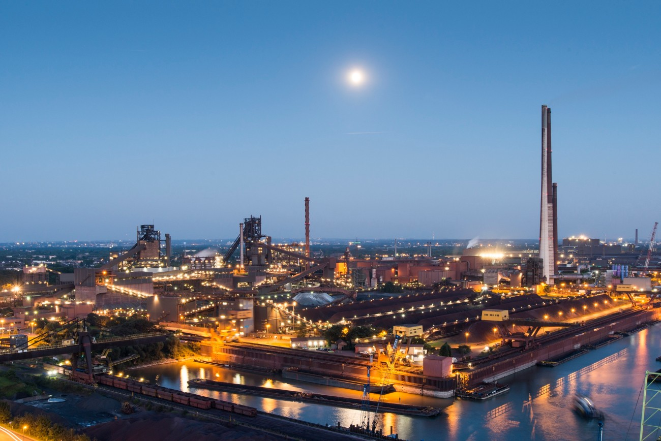 thyssenkrupp's steelworks never rests