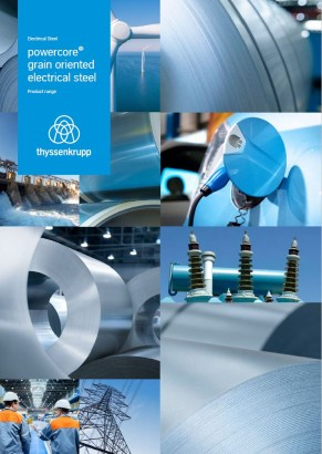 grain oriented electrical steel powercore product range
