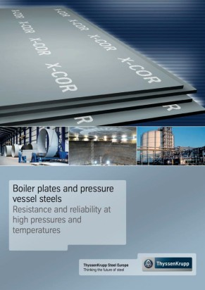 X-COR® - Boiler plates and pressure vessel steels