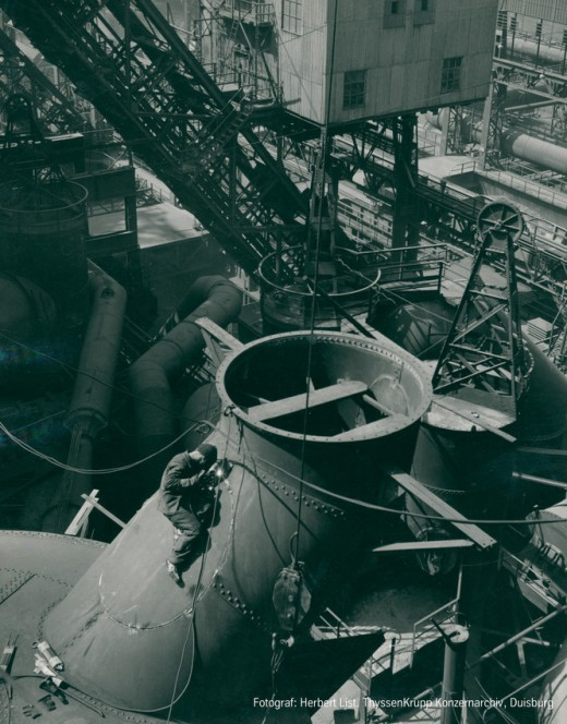 Herbert List Highlights History Corporation ThyssenKrupp Steel Europe