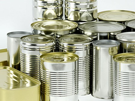 Food and pet food cans